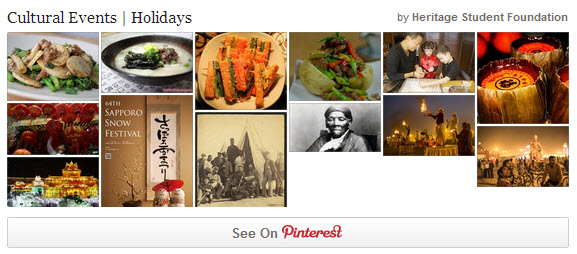 Pinterest Board: Cultural Events | Holidays